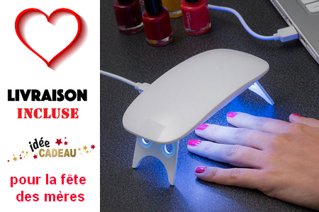 Mini lampe pour ongles LED UV pocket